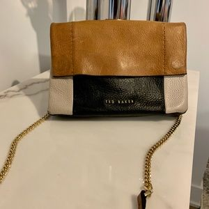 "Ted Baker ""Parson"" soft leather crossbody bag"